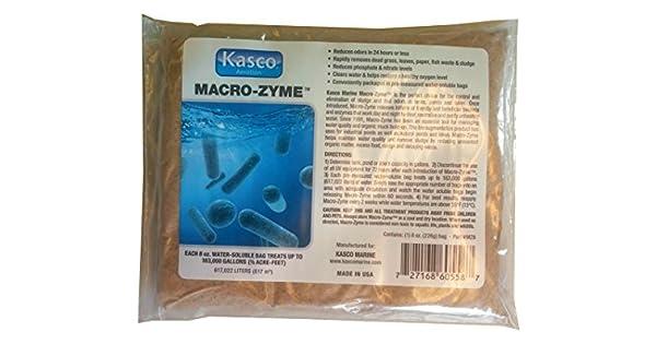Amazon.com: macro-zyme bacterias enzimas Tratamiento de Agua ...