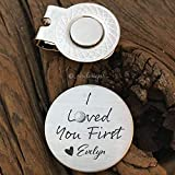 I Loved You First Golf Ball Marker Dad Gift Father of the Bride Gift Golf Marker Wedding Gift Bride Dad Gift Parent Wedding Day Gift
