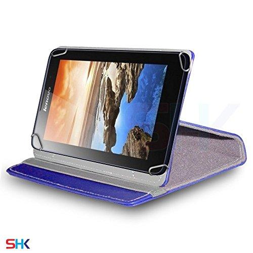 Aventus (White) Tablet 360 Grad drehende lederne Schwenker-Standplatz-Fall-Abdeckung mit Schreibfeder eingeschlossen für Sony Xperia XZ Tablet 2017 Blue
