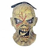 NECA Iron Maiden Eddie Piece Of Mind Halloween Latex Mask