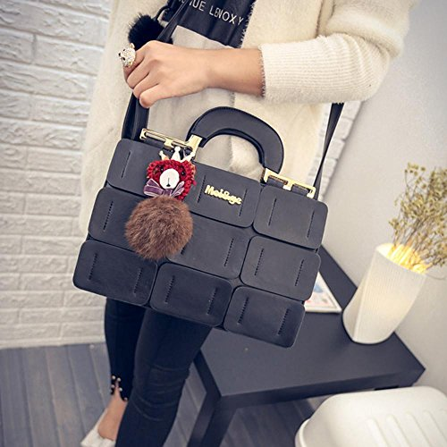 and Handbag Red Messenger NXDA Bag For Shoulder Crossbody Purse Crossbody Women Women Leather Black Girls Artificial Bag Bag Bag X5qqTvxZ