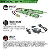 Valken Airsoft Battery - NiMH 9.6v 1600mAh Split