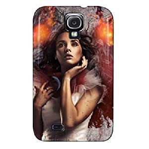 My Wings On Fire Fantasy Black Protective Case For Sumsang Galaxy S4