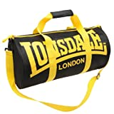 Lonsdale Barrel Bag Different Styles of Colors (black\yellow)