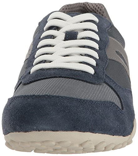 Geox 118 Grey Navy Snake Men's Fashion Light M Sneaker rxnOwrqAvt