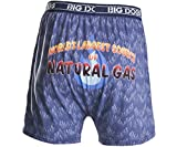 Big Dogs Gas Company Printed Knit Boxers 2X Indigo