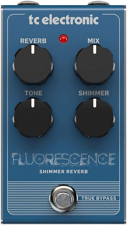TC Electronic Electric Guitar Single Effect (FLUORESCENCE SHIMMER REVE)