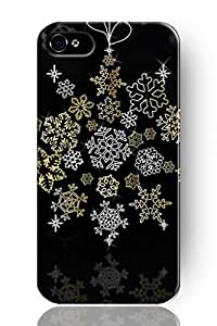 SPRAWL New Fashion Design Hard Skin Case Cover Shell for mobilephone Apple Iphone 4 4S -Snowflake
