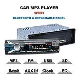 FidgetFidget Bluetooth Car Audio Stereo FM DVD CD MP3 Player Receiver USB SD AUX Input 6883U