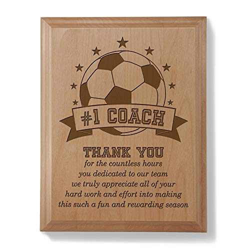 Trophy Coach - Kate Posh - #1 Soccer Coach Plaque and Award