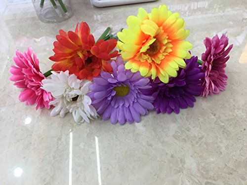 S-shine Lot Of 12 Assorted Color Flower Pens Daisy Pens Ball Point Writing Pen -