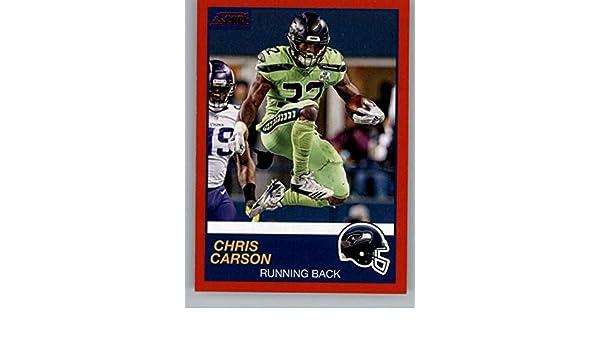 wholesale dealer 5508d 08651 Amazon.com: 2019 Score Red Football #316 Chris Carson ...