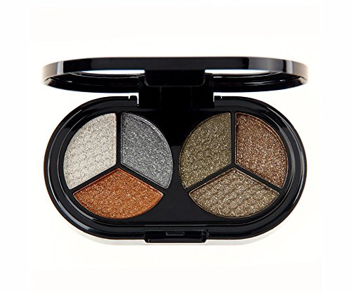 High quality 6 colors glitter eyeshadow Professional Nude eyeshadow palette makeup matte eye shadow