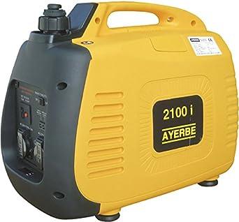 Ayerbe AY-2100 KT Generador Inverter, 1900W: Amazon.es: Industria ...