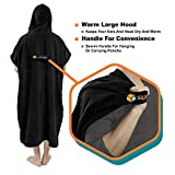 SUN CUBE Surf Poncho Changing Robe with Hood