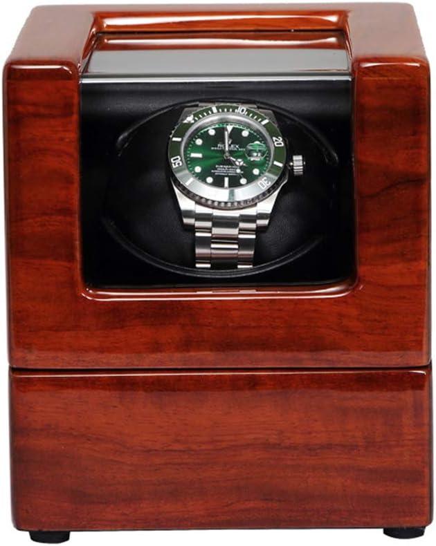 XUNMAIFWT Caja Giratorias para Relojes Automaticos, Clásico Caja De Relojes Mecánicos Caja Bobinadora con Auto Motor, Rotator 4 Modos de Rotación para 1 Reloj Caja: Amazon.es: Deportes y aire libre