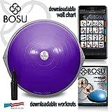 Bosu Balance Trainer, 65cm - Purple/ Gray