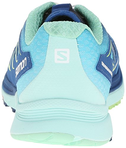 outlet brand new unisex clearance fashion Style Salomon Women's Sense Mantra 3 Running Shoe Gentiane/Igloo Blue/Firefly Green best prices e6gXAbI