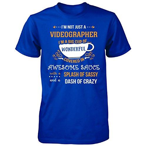 JTshirt.com-4304-I\'m Not Just A Videographer Awesome Sassy Crazy - Unisex Tshirt-B01MG0N9DM-T Shirt Design