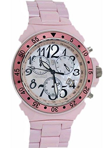Lancaster Italy Pink Ceramic Chronograph (Lancaster Pink Watch)