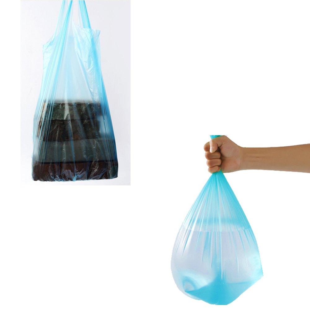150 Handy Bag Bolsas de Basura de Polietileno 14 Litros Cocina Desperdicio de Alimentos Bolsas de Basura