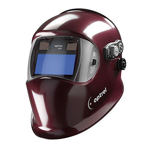 Welding Helmet, Shade 4, 9 to 13, Red