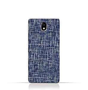 AMC Design Samsung Galaxy J7 Pro TPU Silicone Case with Brushed Chambray Pattern