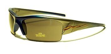 Rocket Flop Sportbrille Sonnenbrille, Unisex Kinder XS Rot/Grau