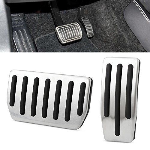 Non-Slip Performance Foot Pedal Pads for Tesla Model 3 - Auto Aluminum Pedal Covers accessories
