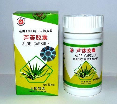 Chinoise 100% Natural Aloe Vera Gélules d'extrait à base de plantes