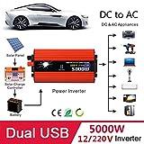 TOPmountain - 5000W Peak Power Inverter for Car,DC