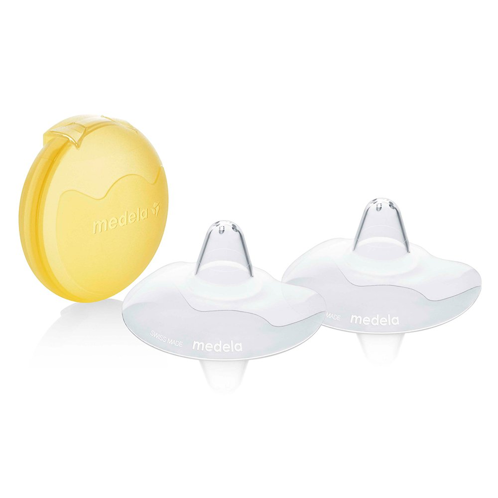 Medela 20 mm Contact Nipple Shields with Case (Medium) BabyCentre 200.1593