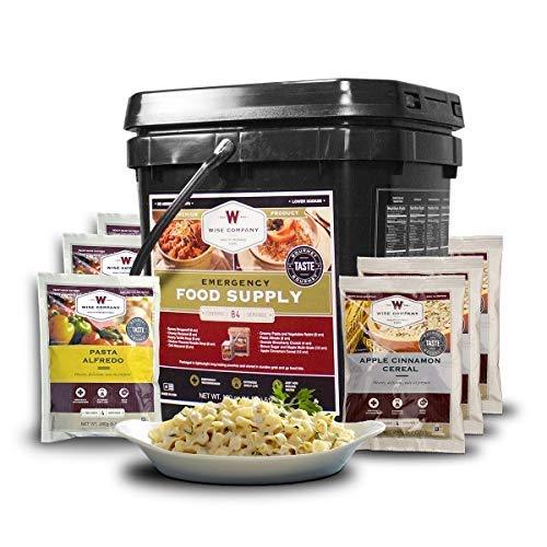 (Wise Foods 84 Servings Breakfast Entree GrabGo Gluten Free Kit, Black)