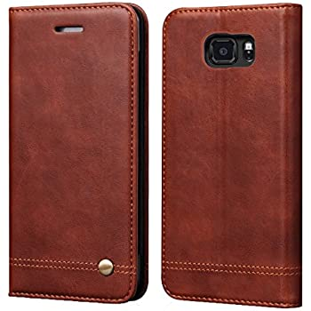 buy popular 9cf60 177c1 Galaxy S7 Active Case[Not for Galaxy S7],RUIHUI Luxury Flip Leather Wallet  Shockproof Protective TPU Bumper Full Case with Magnetic Closure,Card Slots  ...