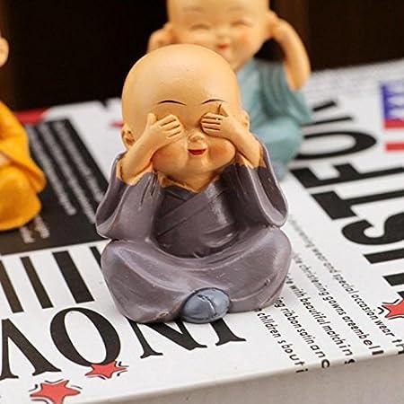 Amazon.com: Ochoos - Juego de 4 figuras de Kong Fu Little ...