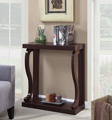 Convenience Concepts Newport Gramercy Console Table, Mahogany -