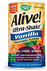 Nature's Way Alive! Soy Shake Vanilla