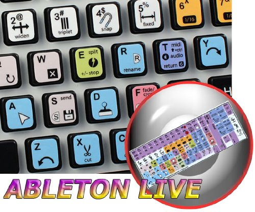 NEW ABLETON LIVE (AUDIO EDITING) KEYBOARD STICKERS