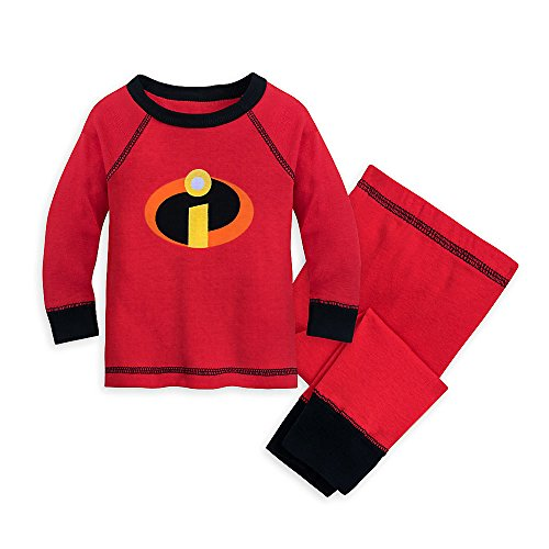 Disney Incredibles Logo PJ PALS for Baby Red Size 0-3 Months440427171301