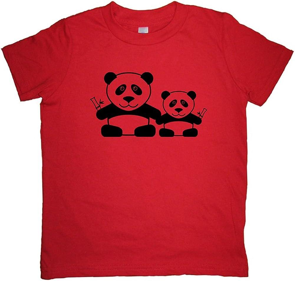 Sunshine Mountain Tees Boys Panda Shirt Pair of Pandas Tshirt