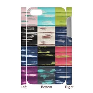3D IPhone 4/4s Cases Different Looks Painted, Kweet, {White}