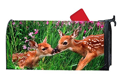 Brotherly Love Mailbox Covers and Wraps,Mailbox Covers Magnetic Autumn Winter,Mailbox Covers Magnetic Standard Size