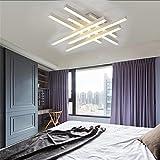 BMEI Modern LED Ceiling light remote controlling aluminum ceiling lighting for bedroom living room indoor Simple Pendant LightsL600W600H120mm , White Light