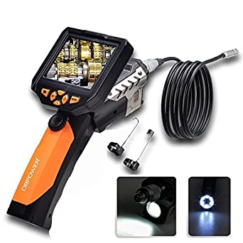 DBPOWER endoscopio cámara de inspección con 3,5 pulgadas de pantalla LCD Monitor de 8