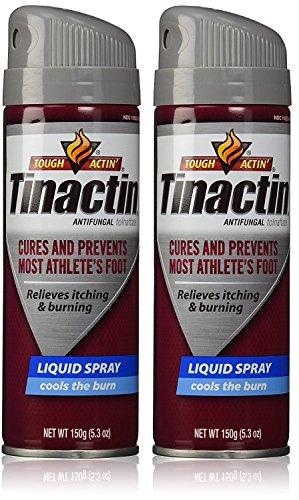 Tinactin Antifungal kRQMIs Liquid Spray 5.3 Oz (Pack of 2) (Tolnaftate Foot Spray Liquid Antifungal)