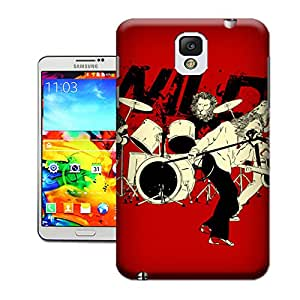 WBOX DIY Stylish Limited Edition - Wild Band TUP Mobile Phone Hard Case Cover Fit for Samsung Galaxy Note 3