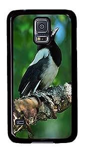 custom made Samsung Galaxy S5 case Beautiful Bird Animal PC Black Custom Samsung Galaxy S5 Case Cover Kimberly Kurzendoerfer