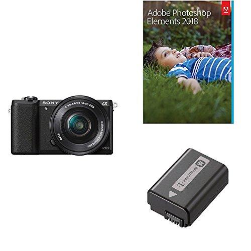 Sony a5100 16-50mm Mirrorless Digital Camera with 3-Inch Fli