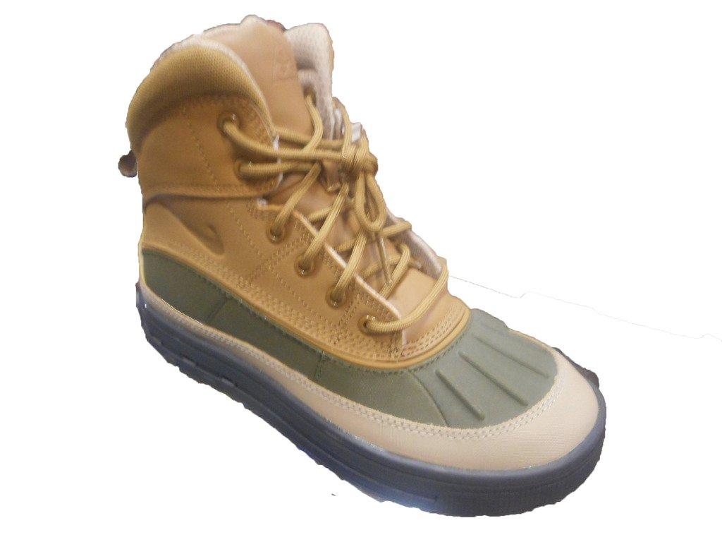 Nike Woodside 2 High Big Kids (GS) Shoes Cargo Khaki/Golden Beige 524872-301 (7 M US) by Nike (Image #1)