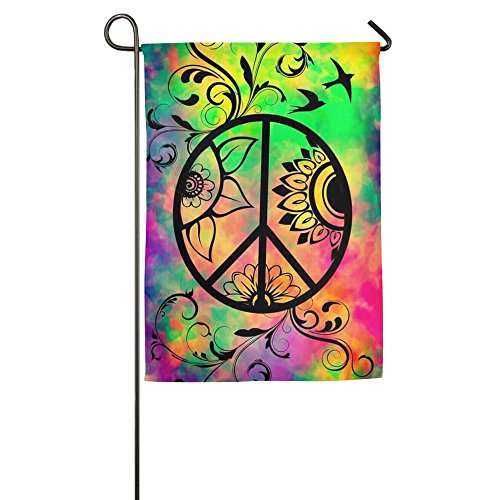 Small World Peace Christmas Lawn Yard House Garden Flags 12 X 18 Prime All-Weather Polyester Emblemize